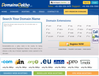 domainsdekho.com screenshot