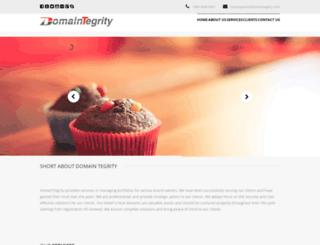 domaintegrity.com screenshot