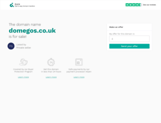 domegos.co.uk screenshot