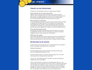 domeinwaarde.nl screenshot