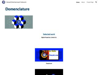 domenclature.com screenshot