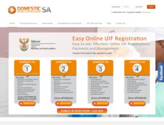 domesticsa.co.za screenshot