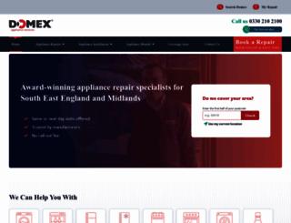 domex-uk.co.uk screenshot