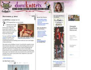 domiknitrix.com screenshot