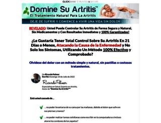 dominesuartritis.com screenshot