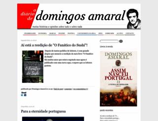 domingosamaral.com screenshot