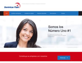 dominicanflash.com screenshot