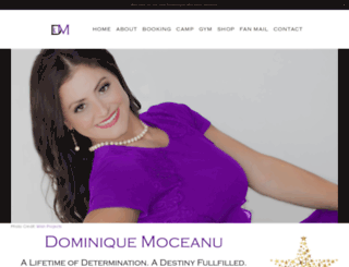 dominique-moceanu.com screenshot