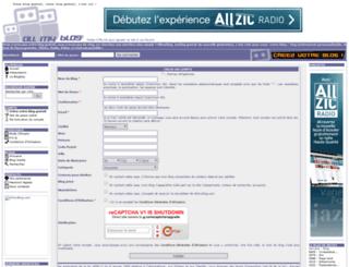 dominiqueniquenique.allmyblog.com screenshot