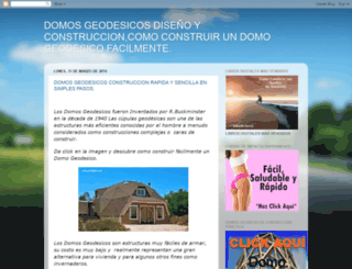 domosgeodesicosconstruccion.blogspot.mx screenshot