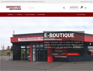 domotec-services.com screenshot