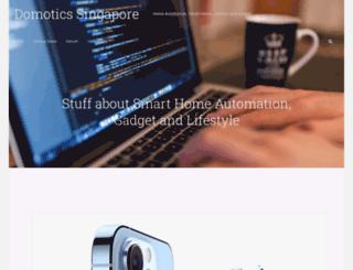 domotics.sg screenshot