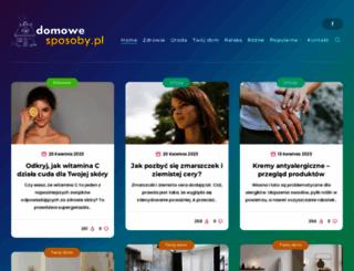 domowe-sposoby.pl screenshot