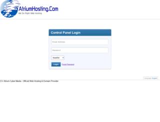 dompanel2.atriumhosting.com screenshot