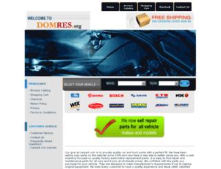 domres.org screenshot
