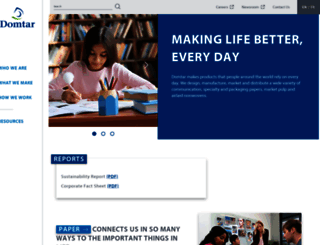 domtar.com screenshot