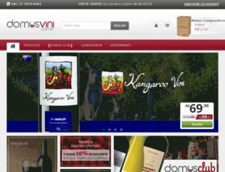 domusvini.com.br screenshot