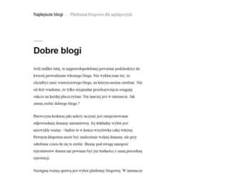 domykanadyjskie.blogan.pl screenshot