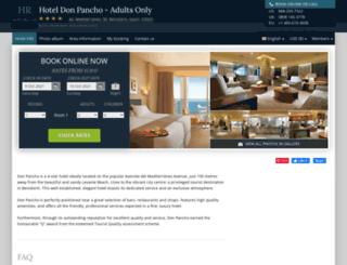 don-pancho-benidorm.hotel-rez.com screenshot