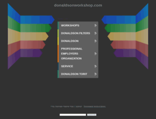 donaldsonworkshop.com screenshot