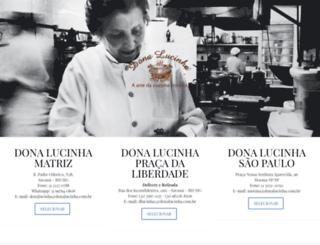 donalucinha.com.br screenshot