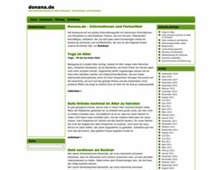donana.de screenshot
