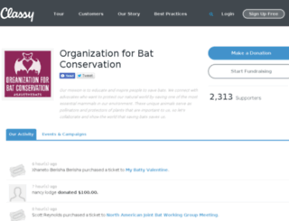 donate.batconservation.org screenshot