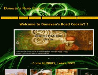 donavensroadcookin.com screenshot