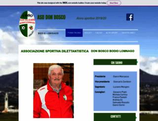 donbosco-bodiolomnago.it screenshot