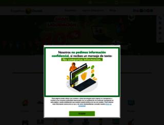 dondeempenos.com.mx screenshot