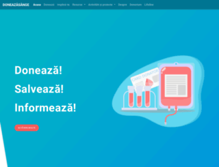 doneazasange.ro screenshot