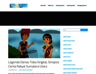dongengceritarakyat.com screenshot