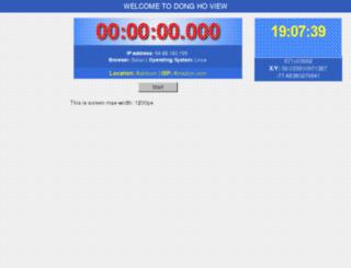 donghoview.esy.es screenshot
