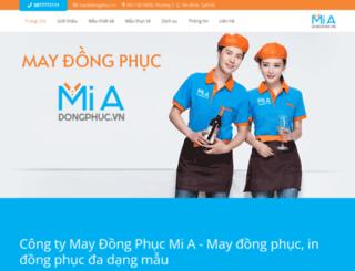 dongphuc.vn screenshot