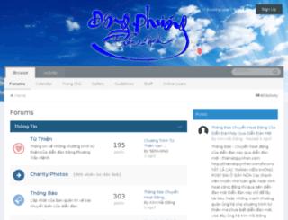 dongphuongtracmenh.org screenshot