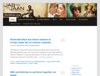 donkhan.org screenshot