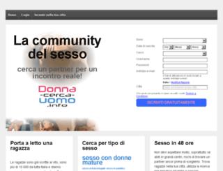 donna-cerca-uomo.info screenshot