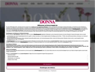 donna-magazin.de screenshot