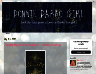 donniedarkogirl.blogspot.com screenshot