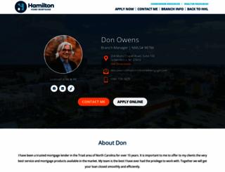 donowensloans.com screenshot