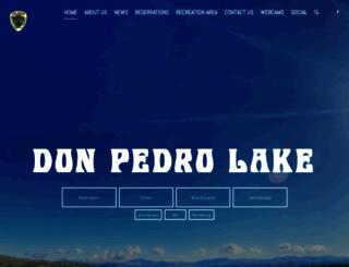 donpedrolake.com screenshot
