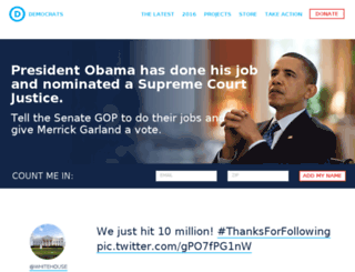 dontdoublemyrate.democrats.org screenshot