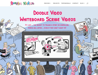 doodle-video.co.uk screenshot