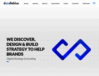 doodleblue.com screenshot