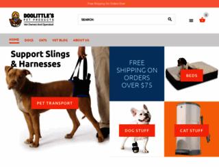 doolittlespetproducts.com screenshot