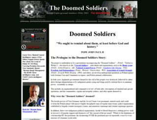 doomedsoldiers.com screenshot