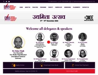 doonbusinessschool.com screenshot