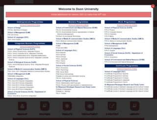 doonuniversity.org screenshot