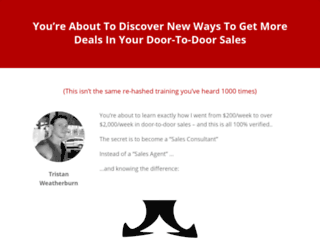 door-to-door-sales-tips.com screenshot