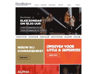 doorbrekers.nl screenshot